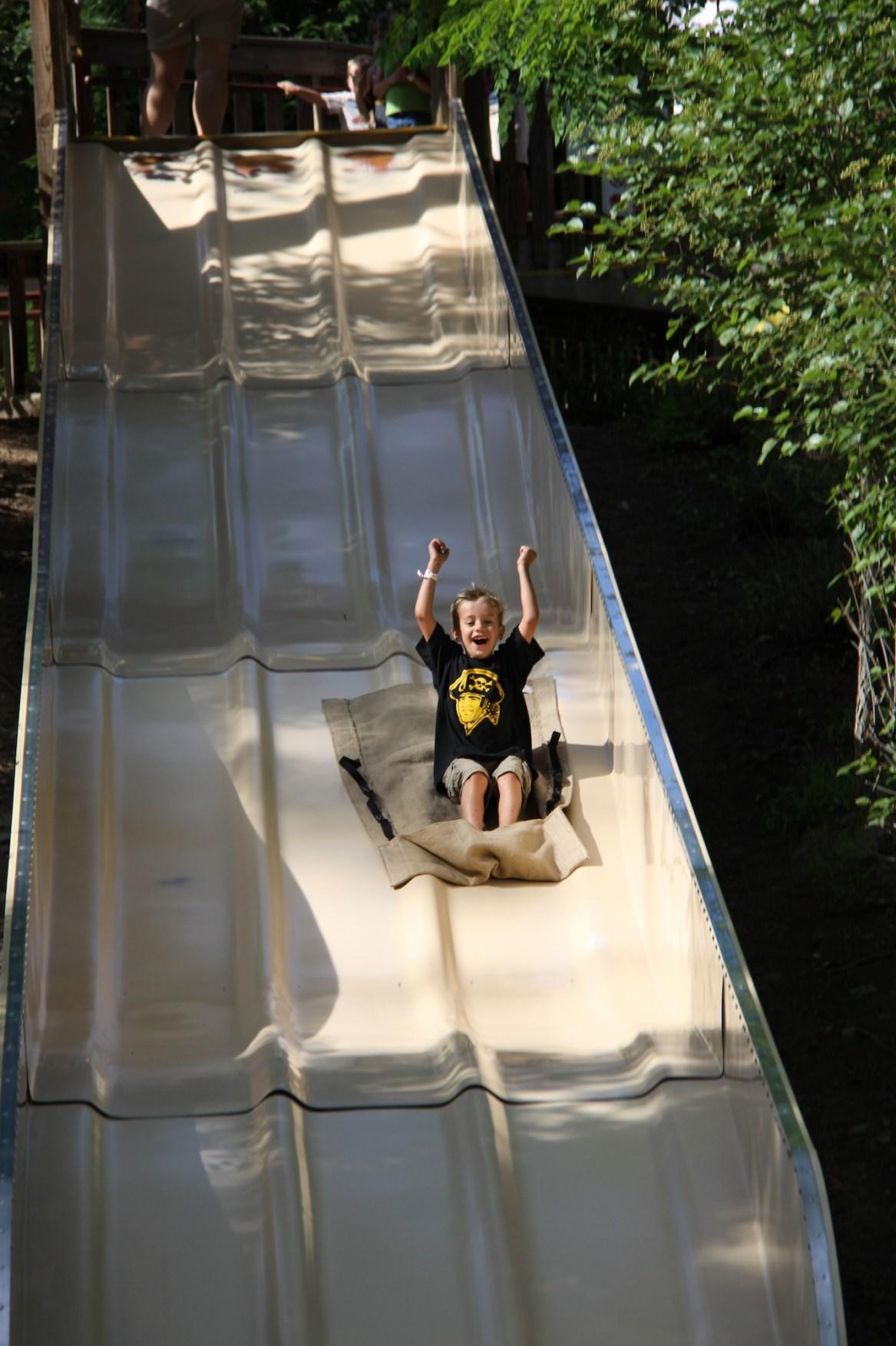 descent log slide