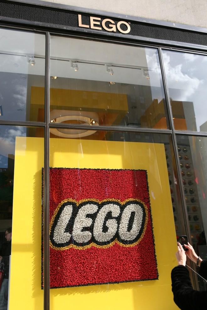 LEGO sign