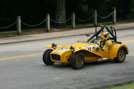 yellow vintage cars 2