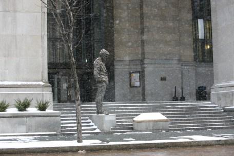 Mayor Caligiuri Statue