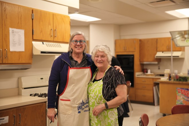 Friends at Cooking Class