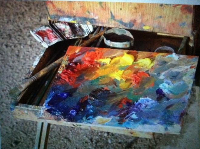 Bill's Paint Palette