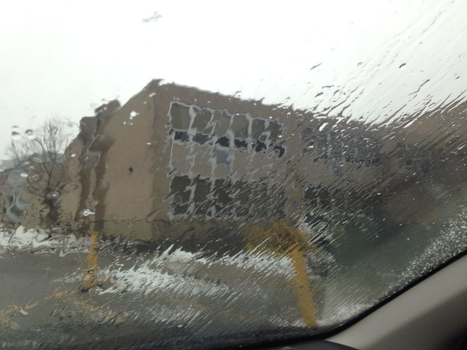 Impressionistic windshield
