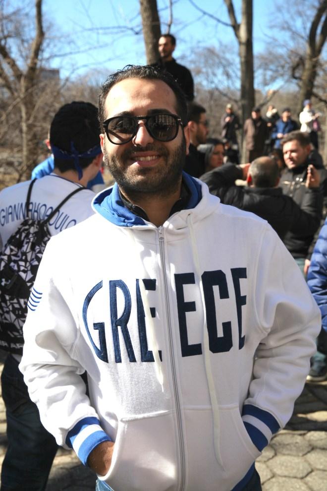 Greek Sweatshirt man
