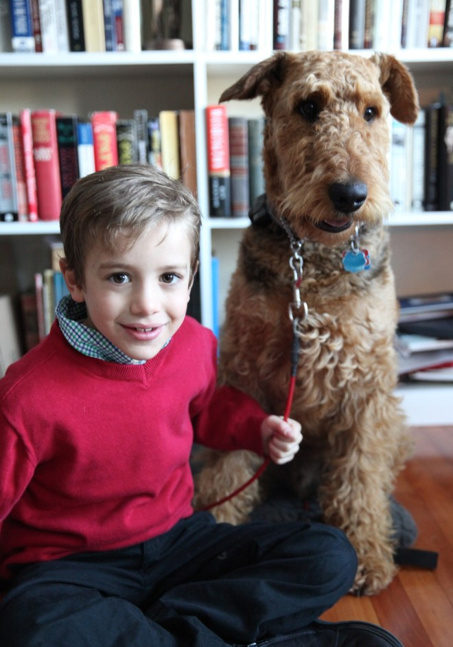 Jack is 8 and Henry