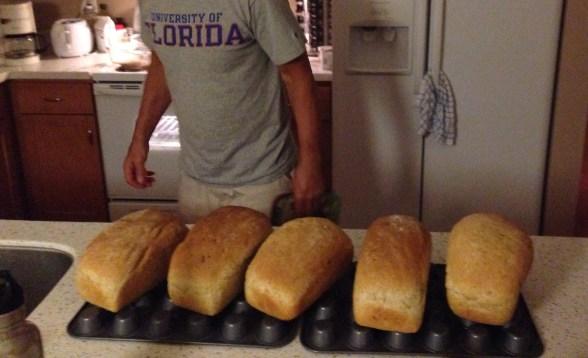 Rick's Homemade Bread