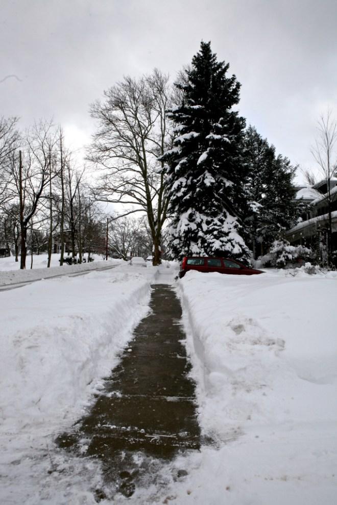 Sidewalk Shoveled