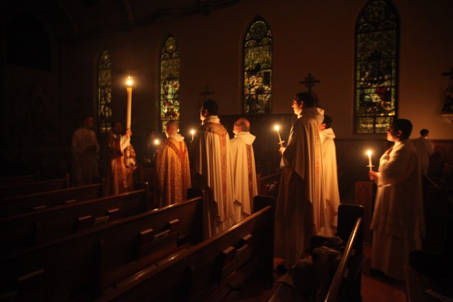 Dominican Friars in Procession