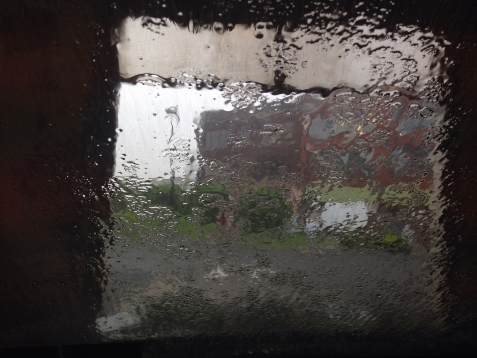 watery window view