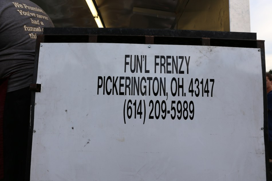 Funnel Cake Sign
