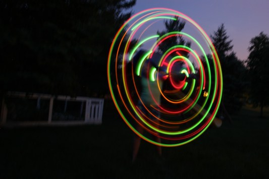 hula hoop lights Anna