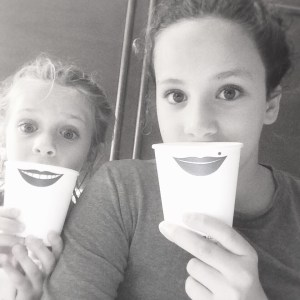 Paper cup smiles