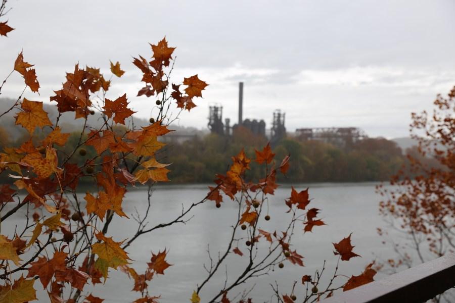carrie furnace autumn