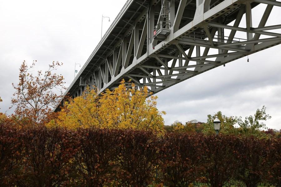 homestead bridge autumn