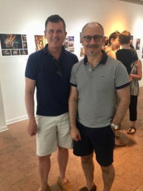 Patrick Moore and Joaquin Navarro