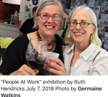 Ruth and Mary photographed by Germaine