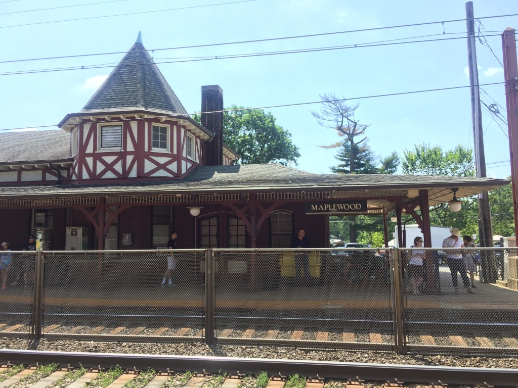 Maplewood New Jersey Train Station