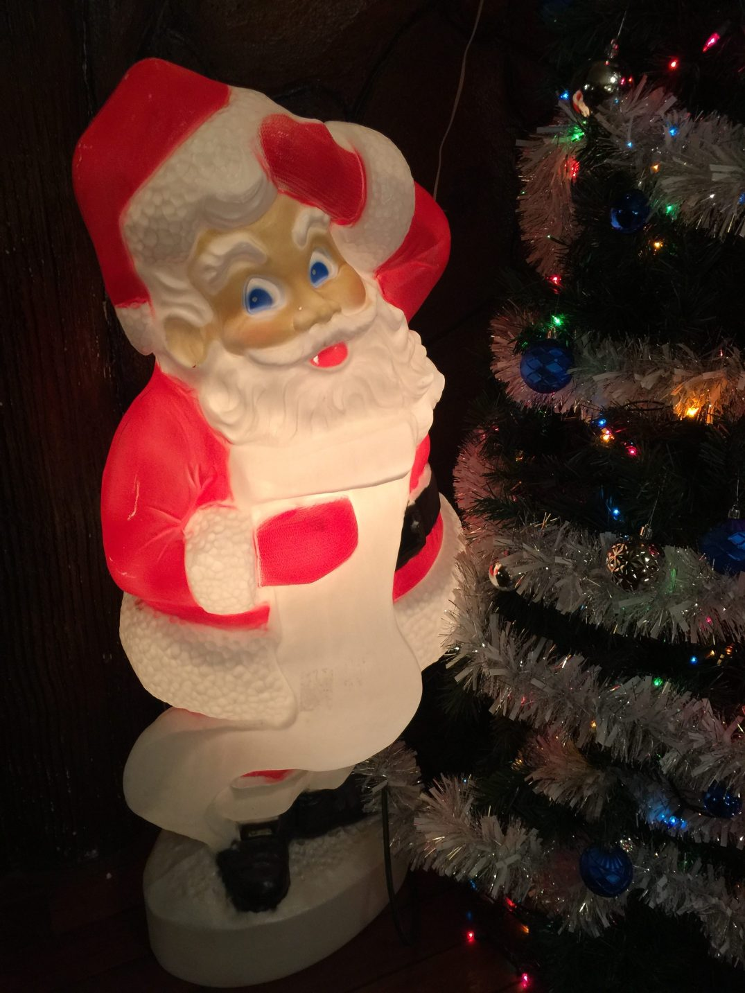 Vintage Santa Decoration