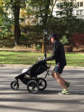 Jogger and Baby Central Park