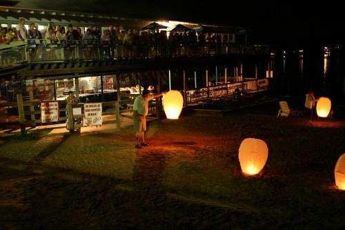 Chinese Paper Lanterns Launch at Conneaut Beach Club