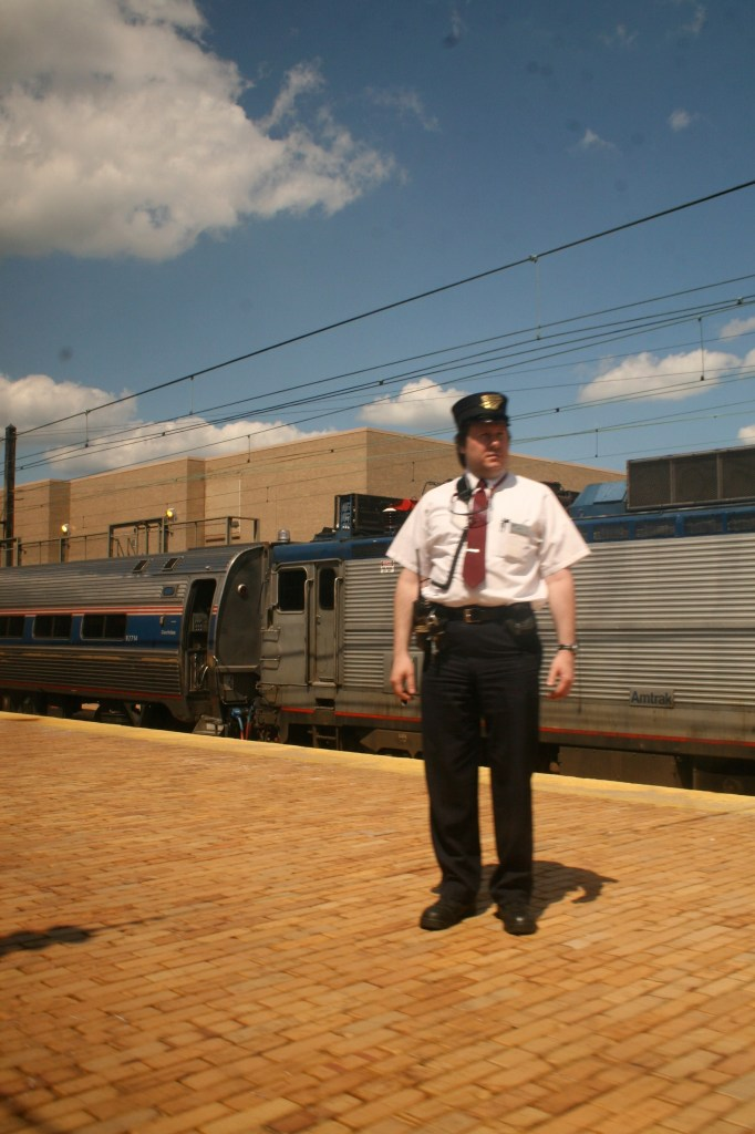 """Conductor on the """"Pennsylvanian"""""""