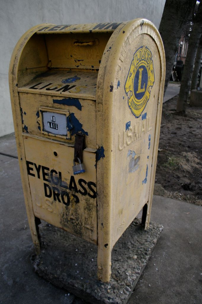 Dig in junk drawer for old pairs of eyeglasses to donate