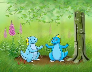 too heavy to fly water dragons wings childrens picture book