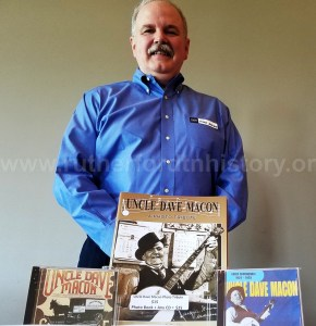 Author Michael Doubler: great grandson of Uncle Dave Macon