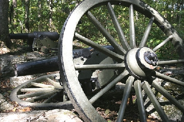 For many people, these broken cannon symbolize the Stones River Battlefield in Murfreesboro, Tenn. (Laura Leigh Smith/TMP)