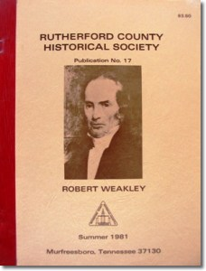 Publication 17: The town Jefferson 1803-1813, Will Abstracts (Record Books 1 & 2 - 1803-1814), Old City Cemetery. (Please add shipping of $5.00)