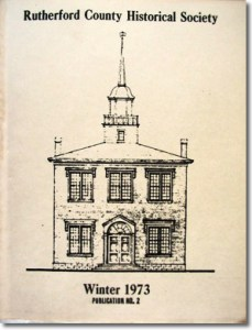 Publication 2: Rutherford County Marriage Records (1854-1856), Bride Index (continued), Rutherford County Militia Commissions 1812-1820, Mayors of Murfreesboro and a History of the Kittrell Community. OUT OF PRINT