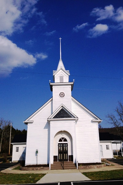 Fosterville Church of Christ was built in 1886 and survived a pair of tornadoes in 1890 and 1923.