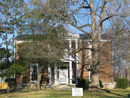 Joseph Dillon, a wealthy attorney, Smyrna merchant and Unionist legislator for Rutherford County, built the brick house in 1865. (Photo: Submitted)