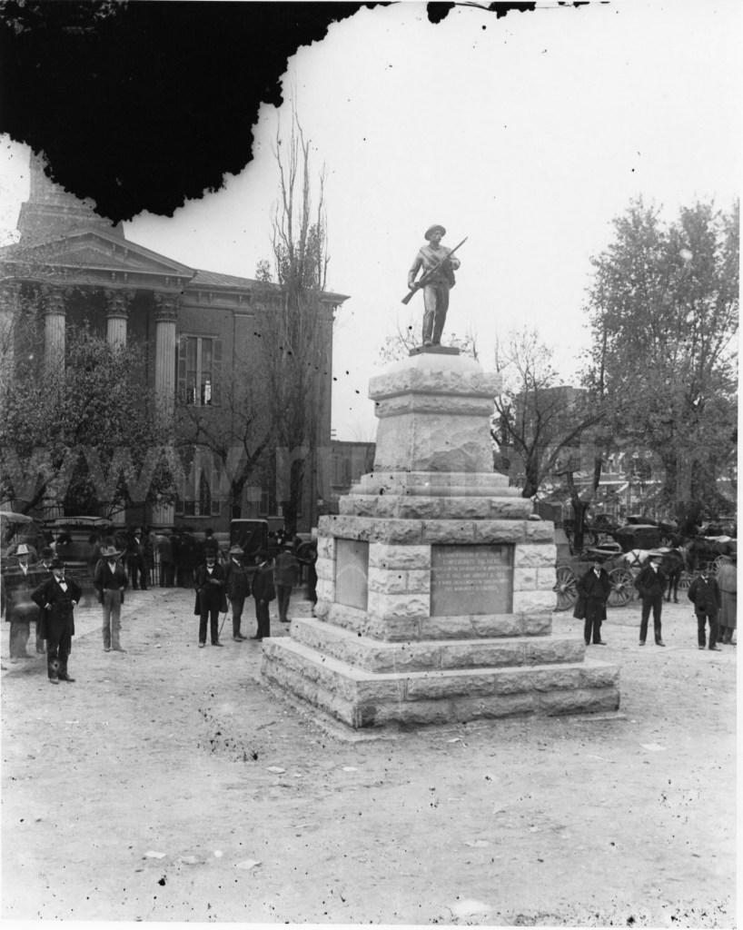 Square - Confederate Memorial Dedication 2