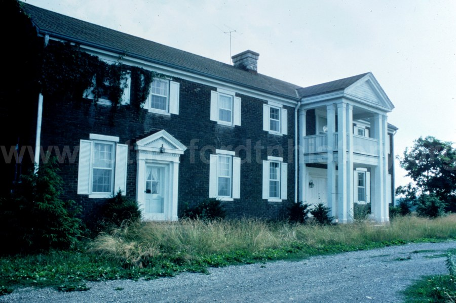 The Absalom Scales house c1977.