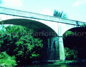 Jefferson Pike bridge over the West Fork of the Stones River.