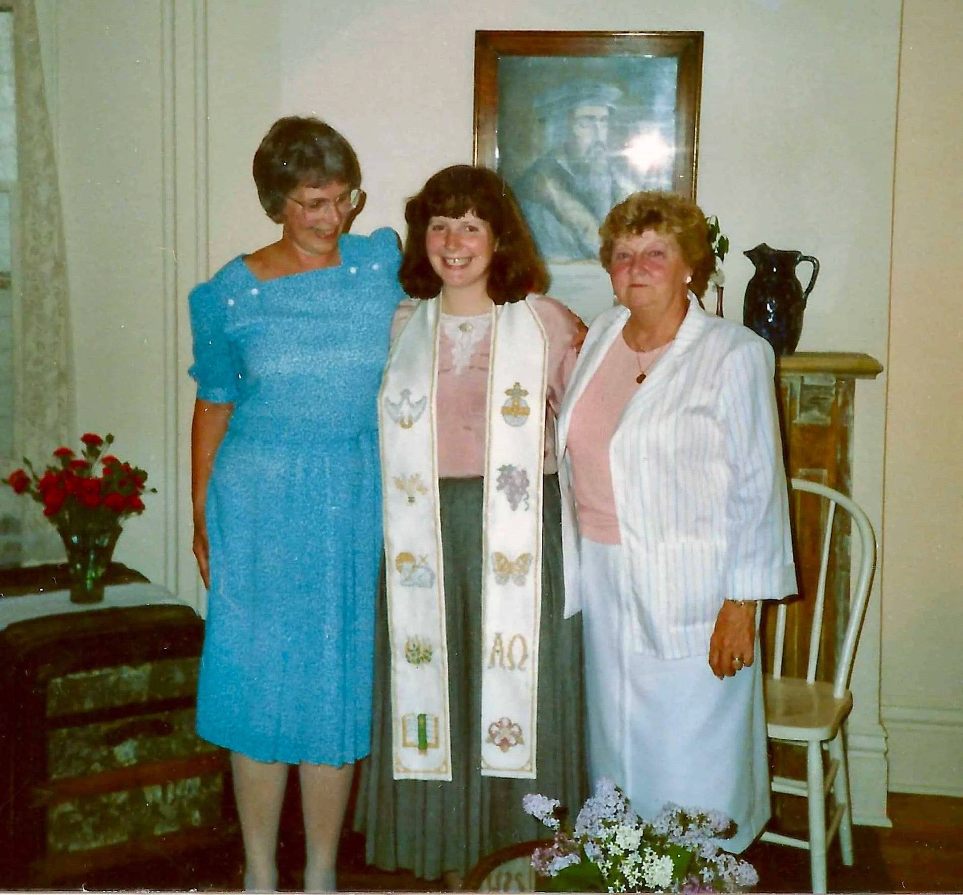 anniversary of ordination, clergy appreciation month, stole, vestment