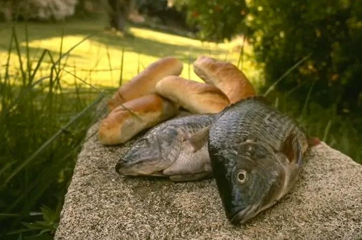 Jesus Feeding the Five Thousand