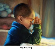 R Boy_Praying