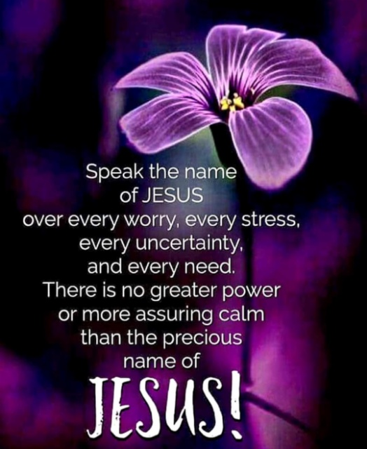 POWER IN THE NAME OF JESUS!