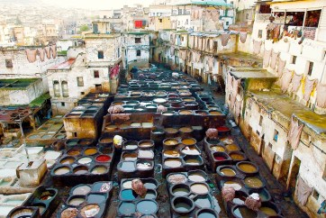 Fez, Morocco tannery
