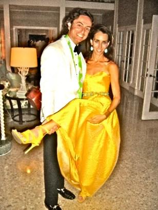 Nicolo Bini and me at a Wedding