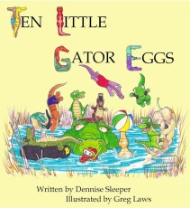 Ten Little Gator Eggs cover