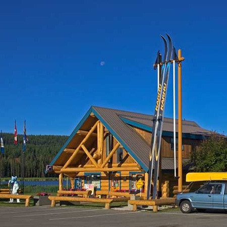 South Cariboo Visiter Centre in 100 Mile House, BC