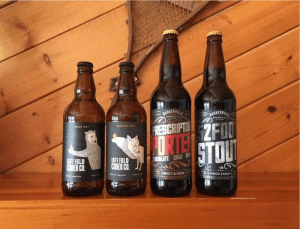 Beers in the Cariboo Chilcotin region