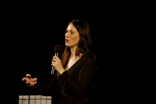 Ruth preaching