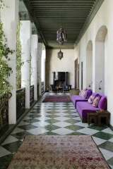 Interiors photographer Ruth Maria photographs El Fenn boutique hotel riad in Marrakech