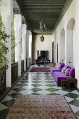 Interiors photographer Ruth Maria photographs El Fenn boutique hotel riad in Marrakech