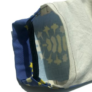 open pocket for filter in mask