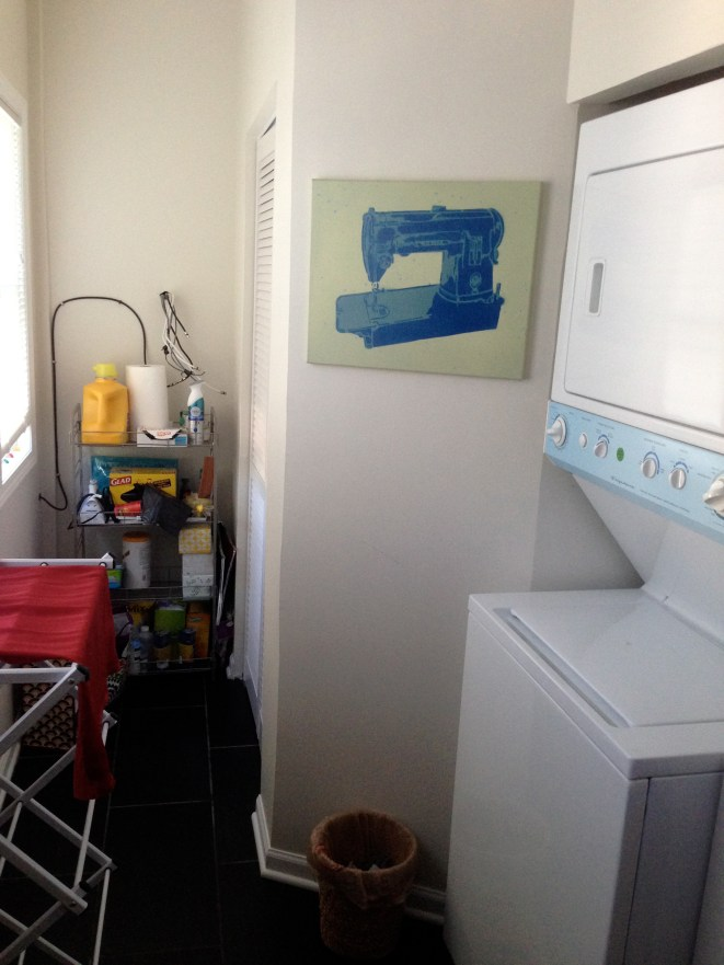 In-unit in laundry is basically best thing that came out of this move.